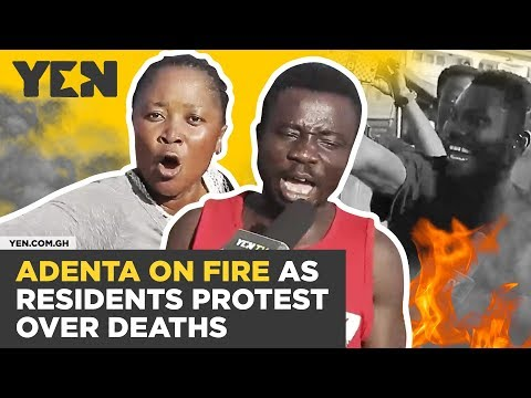 Ghana News Today: Adenta on Fire as Angry Residents Protest Over Frequent Deaths | #Yencomgh