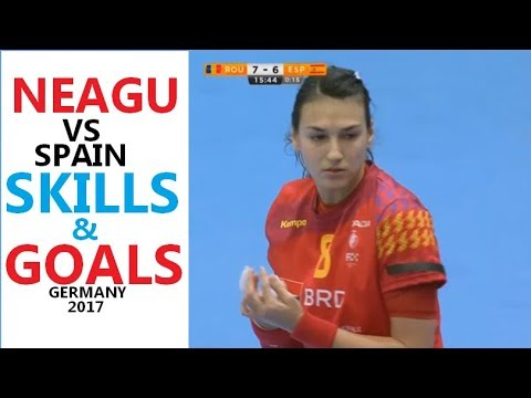 Cristina Neagu vs Spain 19:17 | Skills & Goals | Women's handball | World Women's Championship 2017