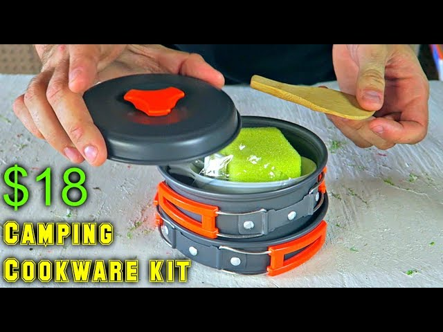 $18 Camping Cookware Kit
