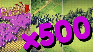 x500 of EVERY Troop in Clash of Clans [Mass Troops APK with Download Link]