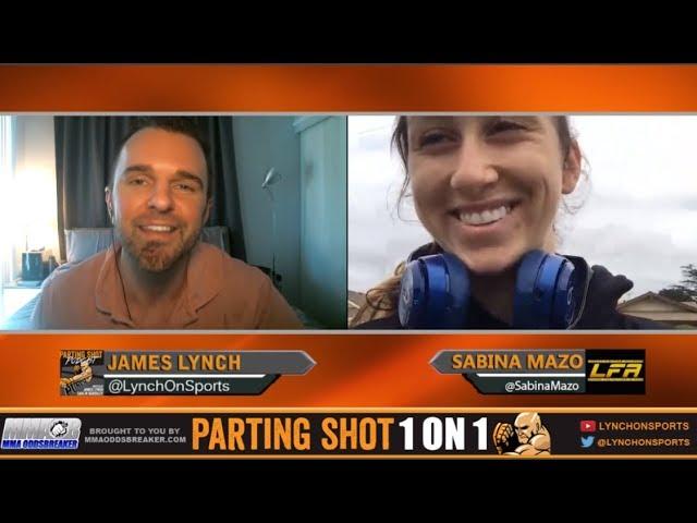 Sabina Mazo talks second highlight-reel win at LFA 23
