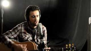 """You Found Me"" The Fray [acoustic cover by Louis Vlahakis] with lyrics"