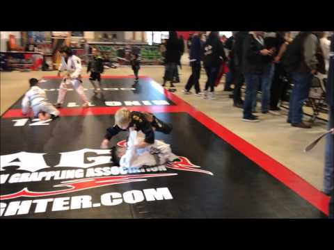 NAGA Seattle- Making of a Brazilian Jiu-Jitsu Master Part 129! Boy is only 6 yrs old! 02252017