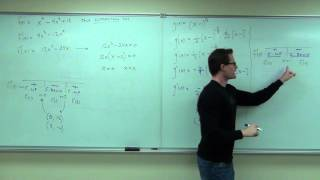 Calculus 1 Lecture 3.4:  The Second Derivative Test for Concavity of Functions