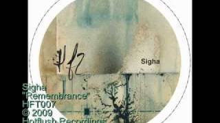 Sigha - Remembrance - HFT007