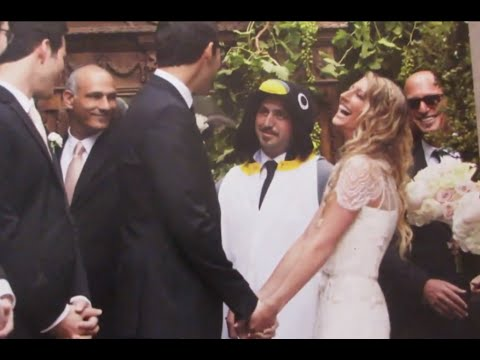 My brother is a Penguin at my wedding - YouTube