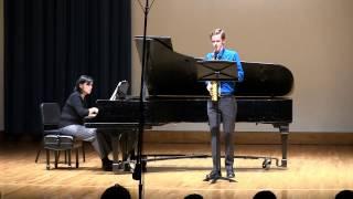 Concerto pour Saxophone Alto et Orchestre: Pierre Max Dubois