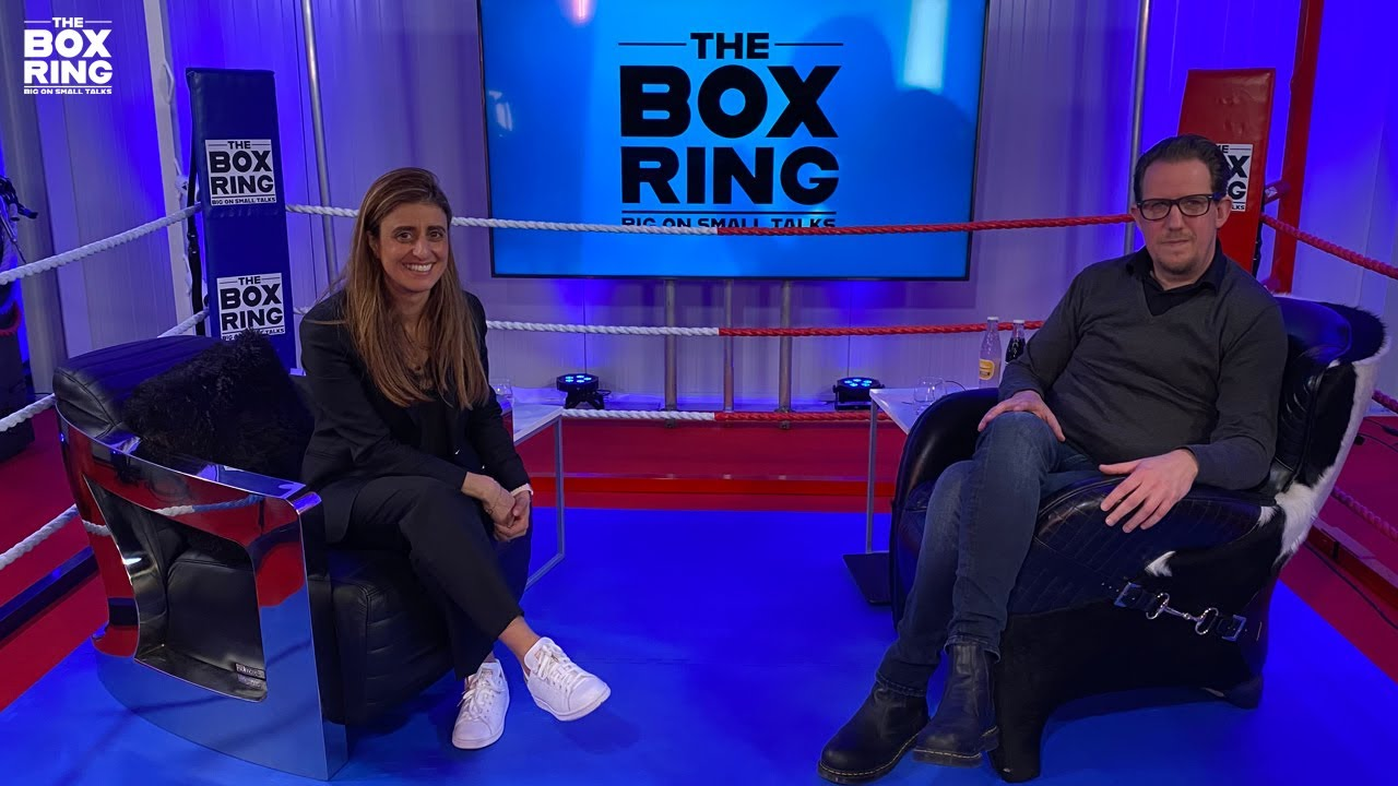 The Boxring met Bouchra Hashassi
