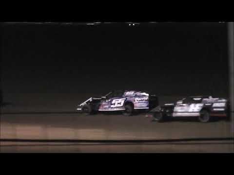 Salina Speedway SalinaUsedcars.com IMCA Modifieds (Heat race 1 & Feature) 7-14-17