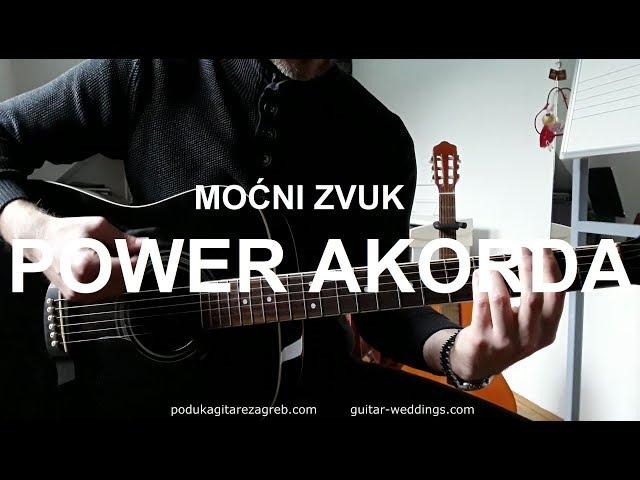 POWER akordi na GITARI!