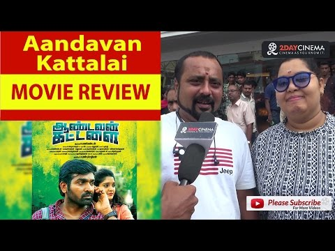 Aandavan Kattalai Movie Review |...