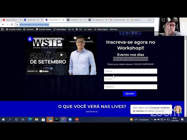 🔴 COMENTÁRIO ABERTURA DE MERCADO| AO VIVO | 21/09/2021 | B. Trader