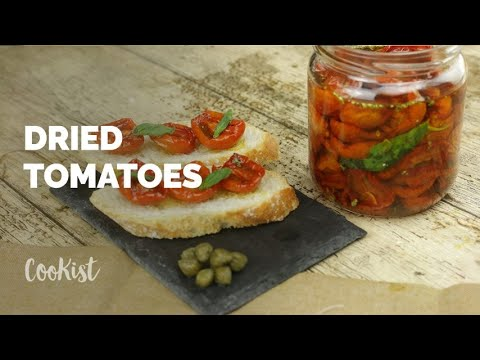 Italian Homemade Dried Tomatoes: The Best Recipe To Make Them With Your Hands!