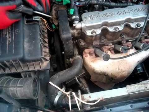Проверка коммутатора и выстановка зажигания deowoo nexia двигатель g 15 mf