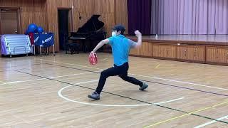 #야구 김탁구 투수에 도전하다