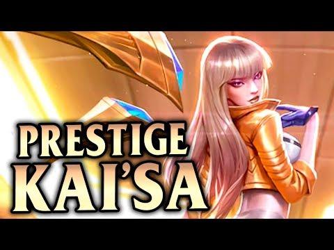 New K/DA Kai'Sa Prestige Edition! 30+ Kills AP Kai'sa! - League of Legends S8
