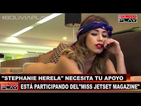 Stephanie Herela Participar� en el MISS JETSET MAGAZINE | Bolivia Play