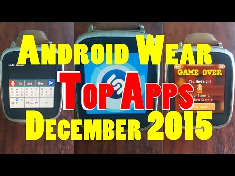 Best Android Wear Apps Of December 2015