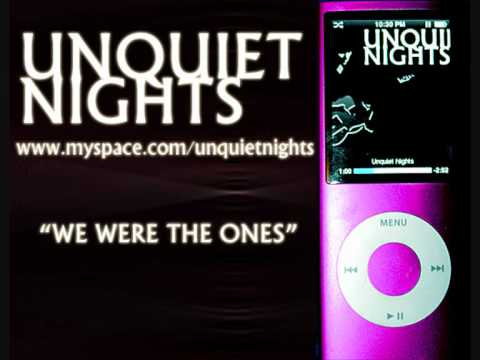 WE WERE THE ONES - UNQUIET NIGHTS on the Mister Music Show, RadioGetsWild