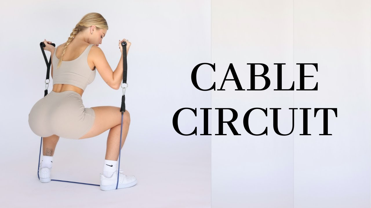 BOOTY BUILDING CABLE CIRCUIT | 5 Minutes