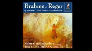 J. Brahms - Clarinet Quintet - III. Andantino (Valery Gorokholinsky, clarinet)