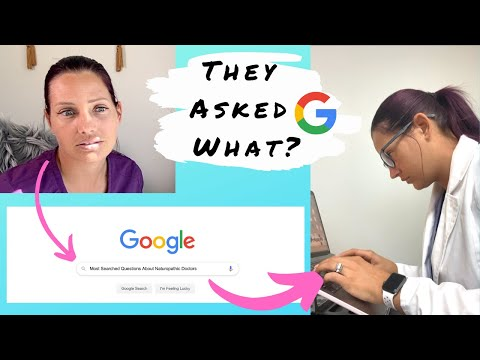 REAL DOCTOR ANSWERING THE WEBS Most Searched Questions On Naturopathic Medicine   Faithful Doc