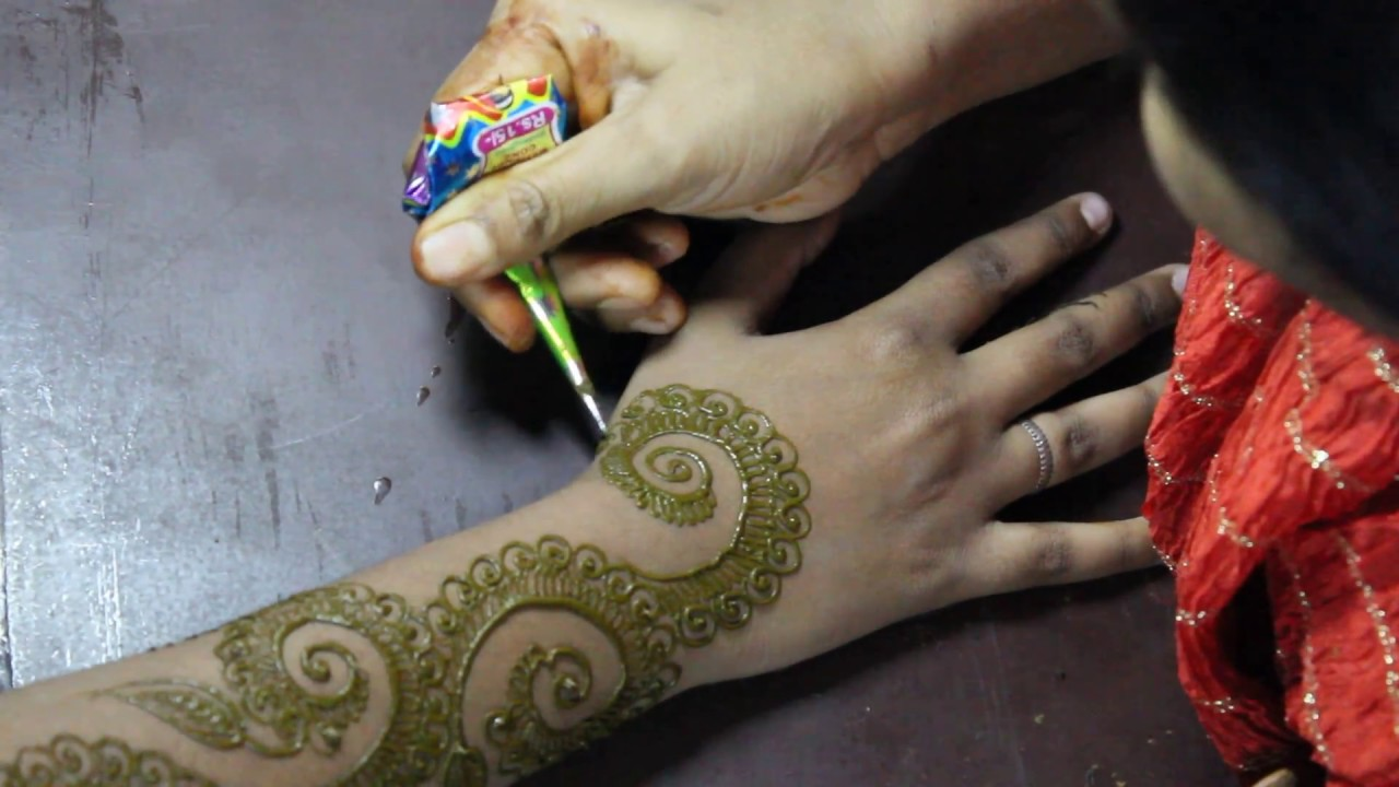 Mehndi Tattoo Back Hand : Best mehndi designs for hands on occasions stunning