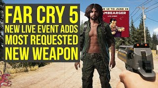 New Far Cry 5 Live Event Adds Most Requested NEW WEAPON (Far Cry 5 Hambearger - Far Cry 5 D50)
