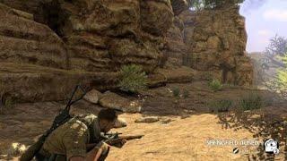 SE3 24 Kasserine Pass Sniper 335m Kill Shot