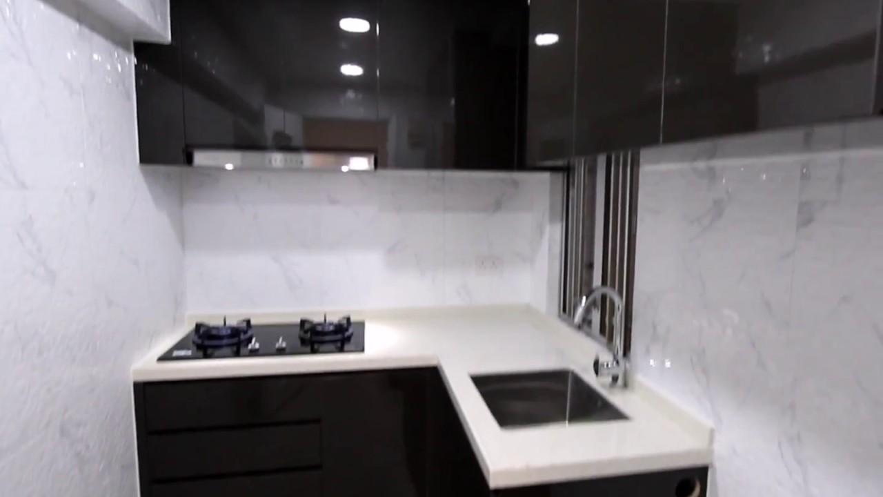 51 麗晶花園全屋裝修連傢俬設計-首都設計中心 - YouTube