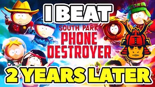 I FINALLY BEAT SOUTH PARK PHONE DESTROYER! (ALL PVE)