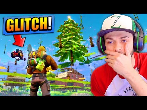 GAME-BREAKING GLITCH in Fortnite: Battle Royale! (UNDER THE