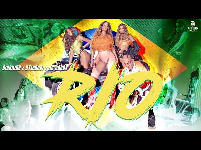Dinamiss x Stikoudi x Mc Daddy - RIO | Official Music Video