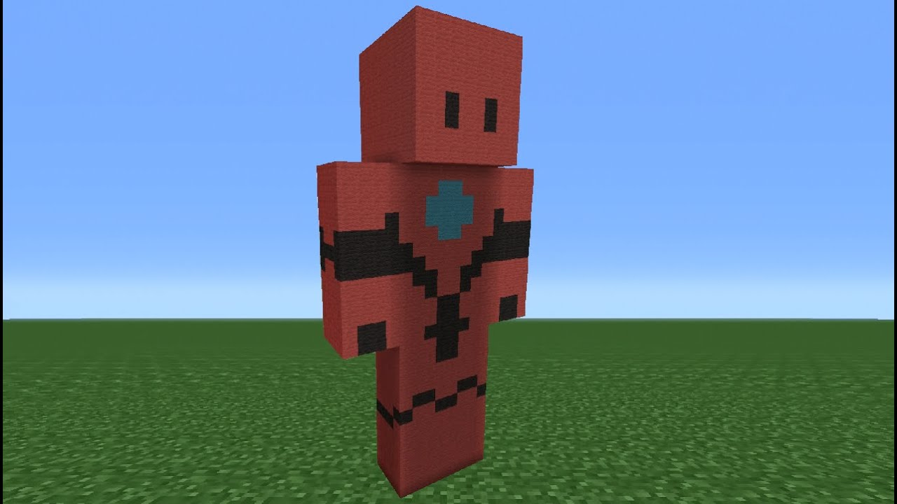 Minecraft Tutorial: How To Make A Blitzwinger Statue - YouTube