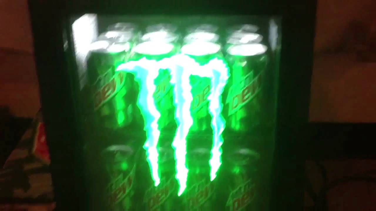 Monster Mini Fridge Youtube