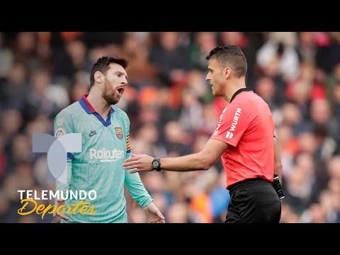 El polémico gol que pudo humillar más al Barcelona ante el Valencia | Telemundo Deportes
