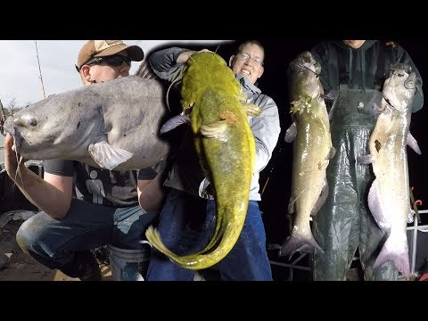 Ultimate FISHING CHALLENGE - 300 lb catfish challenge - How to catch BIG catfish
