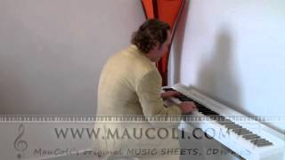 Gold (Spandau Ballet) - Original Piano Arrangement by MAUCOLI