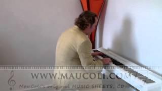 Gold (Spandau Ballet) - Original Piano Arrangement by MAUCOLI