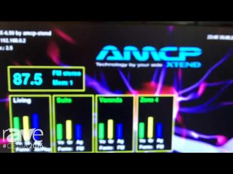 CEDIA 2016: AMCP Extend Shows Off Six-Zone, Multi-Room Amplifier