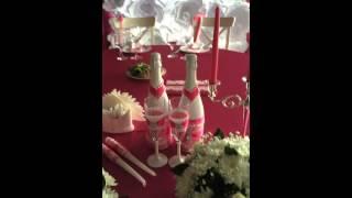 Оформление свадьбы бумажными цветами(, 2015-09-18T08:49:01.000Z)