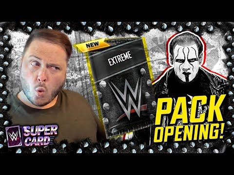 EXTREME CARDS PACK OPENING!! The most AWESOME Cards ever? | WWE SuperCard Season 6