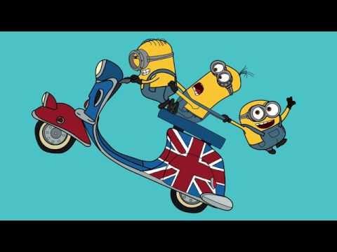Minions Minyonlar çizgi Film Karakter Boyama Sayfası 1 Minik