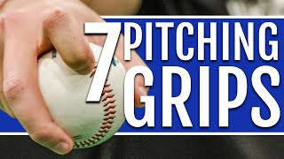 7 Baseball Pitching Grİps (Cheat Sheet Included!)