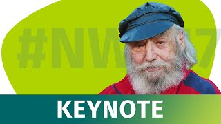 NWX17 - Prof. Dr. Frithjof Bergmann auf der XING New Work Experience 2017