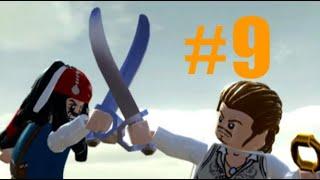LEGO Pirates of the Caribbean #9 the isla cruces (walkthrough) Xbox one (Dead man