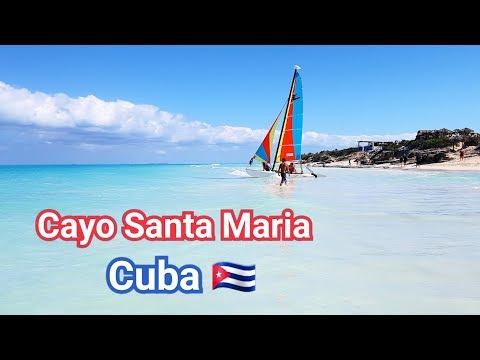 As lindas praias de Cayo Santa Maria - Cuba