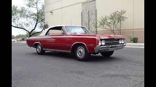 1964 Oldsmobile F-85 Cutlass 442 Convertible in Red & Engine Sound - My Car Story with Lou Costabile