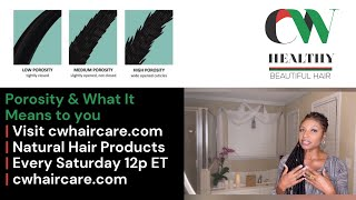HAIR POROSITY   why it Matters To YOU!   Don't lose your hair because you don't know...