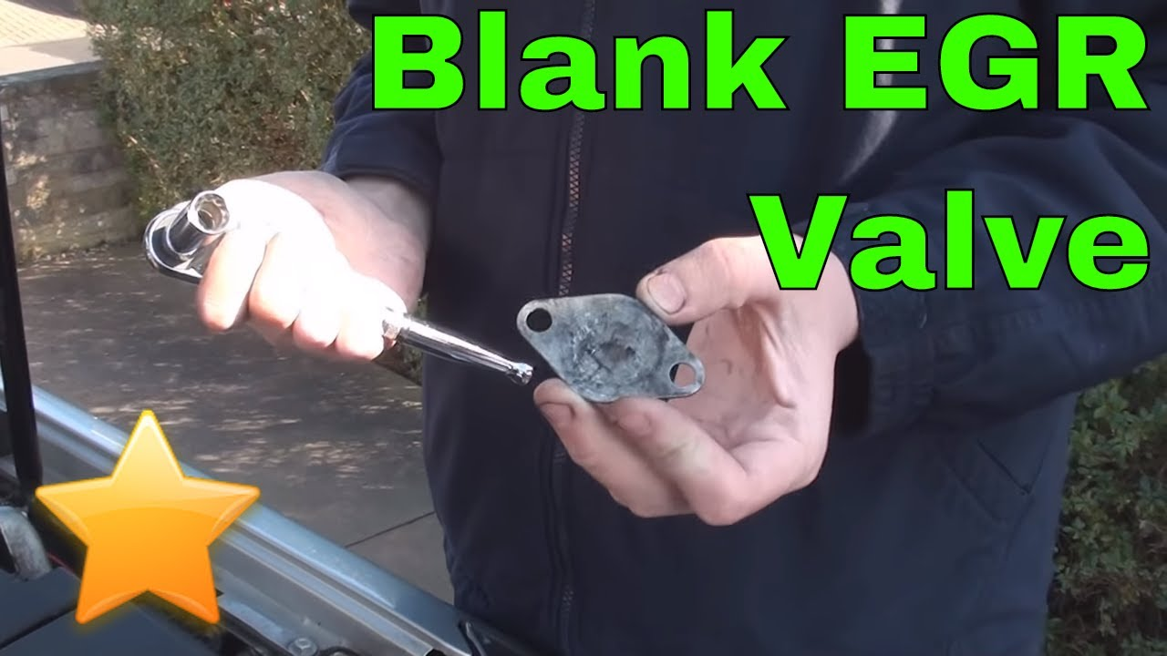 How to: Fit a EGR Blanking Plate on a Diesel Engine